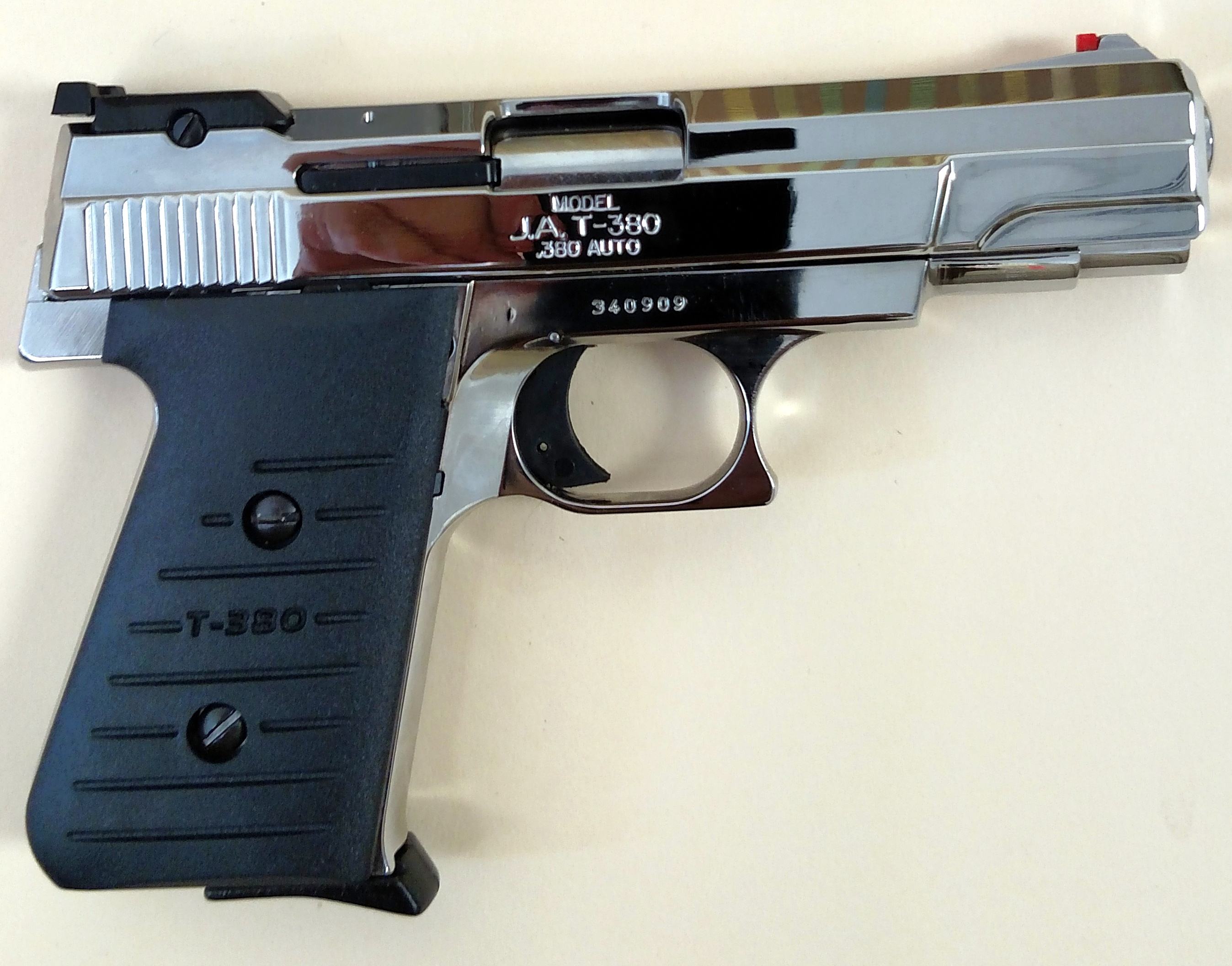 Hi Point 380 For Sale - Brand new beautiful jimenez arms t 380 highly polished chrome pistol w 2 mags