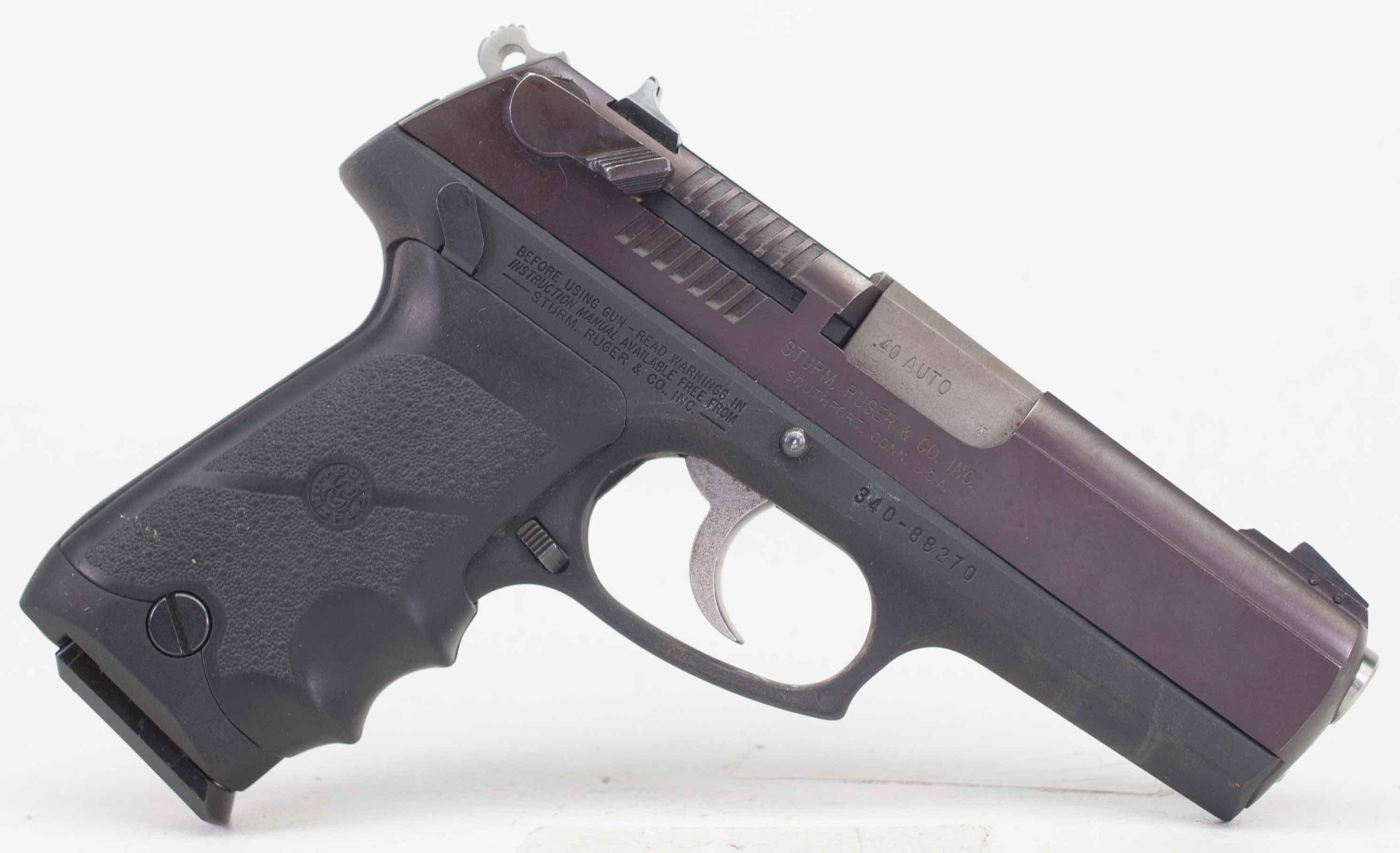 ruger p94 40sw auction id 11984439 end time jul 11 2018 21 05 rh egunner com Ruger P90 ruger p94 owners manual