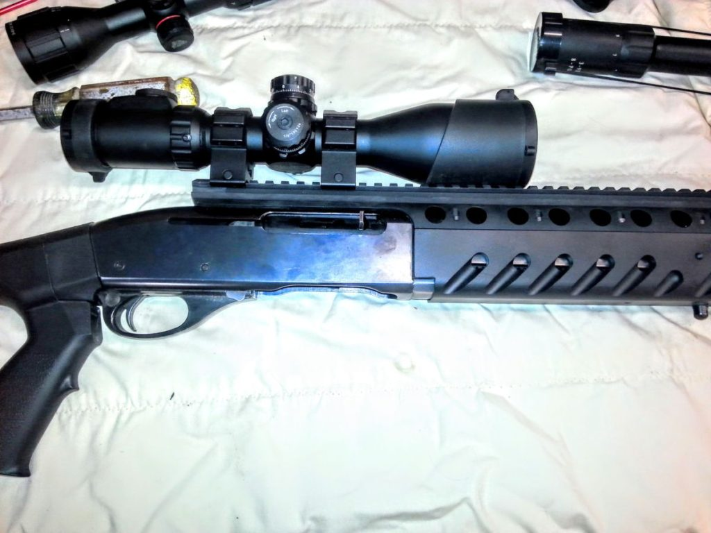 7400 Remington 30 06 With Utg Scope Asi Free Float Forend Auction