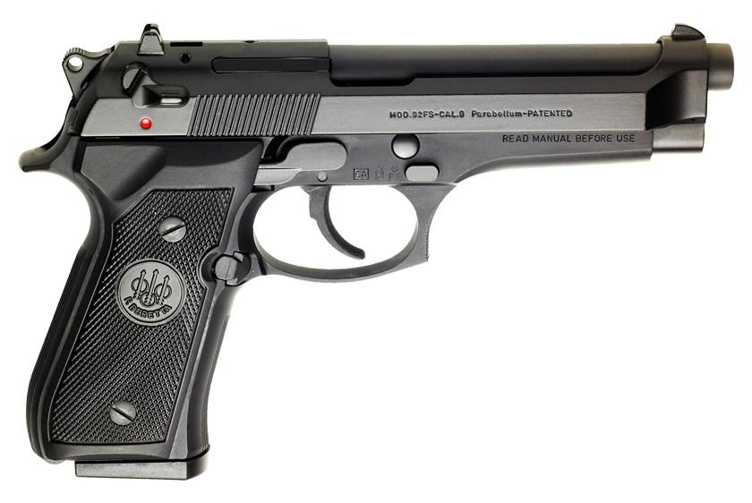 beretta 92fs pistol 9mm three mags 15 rd or 10 rd 92 fs police rh egunner com police firearms manual of guidance Handgun Box