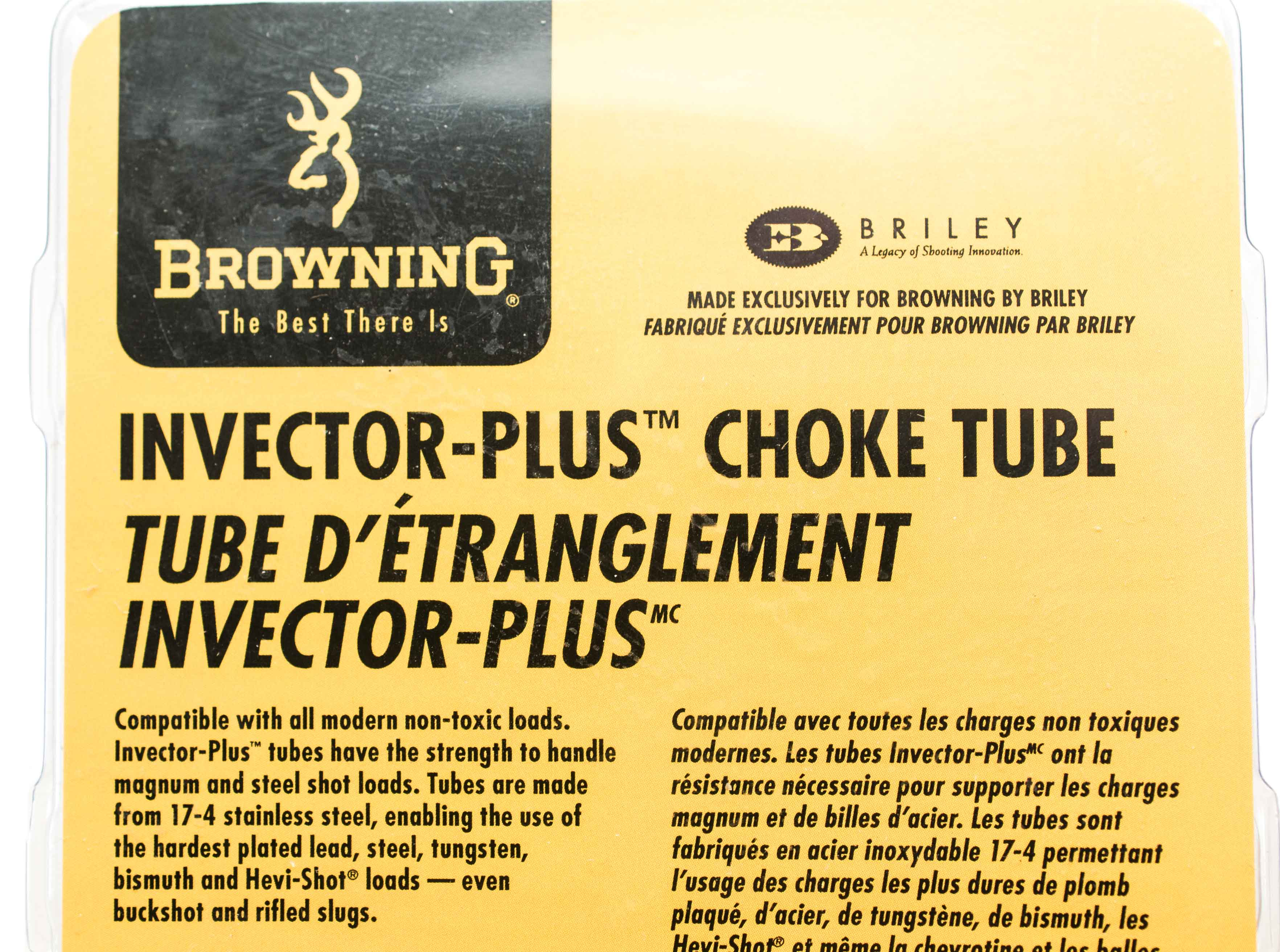 BRILEY BROWNING INVECTOR PLUS 20GA CHOKE TUBES (Auction ID: 5742807