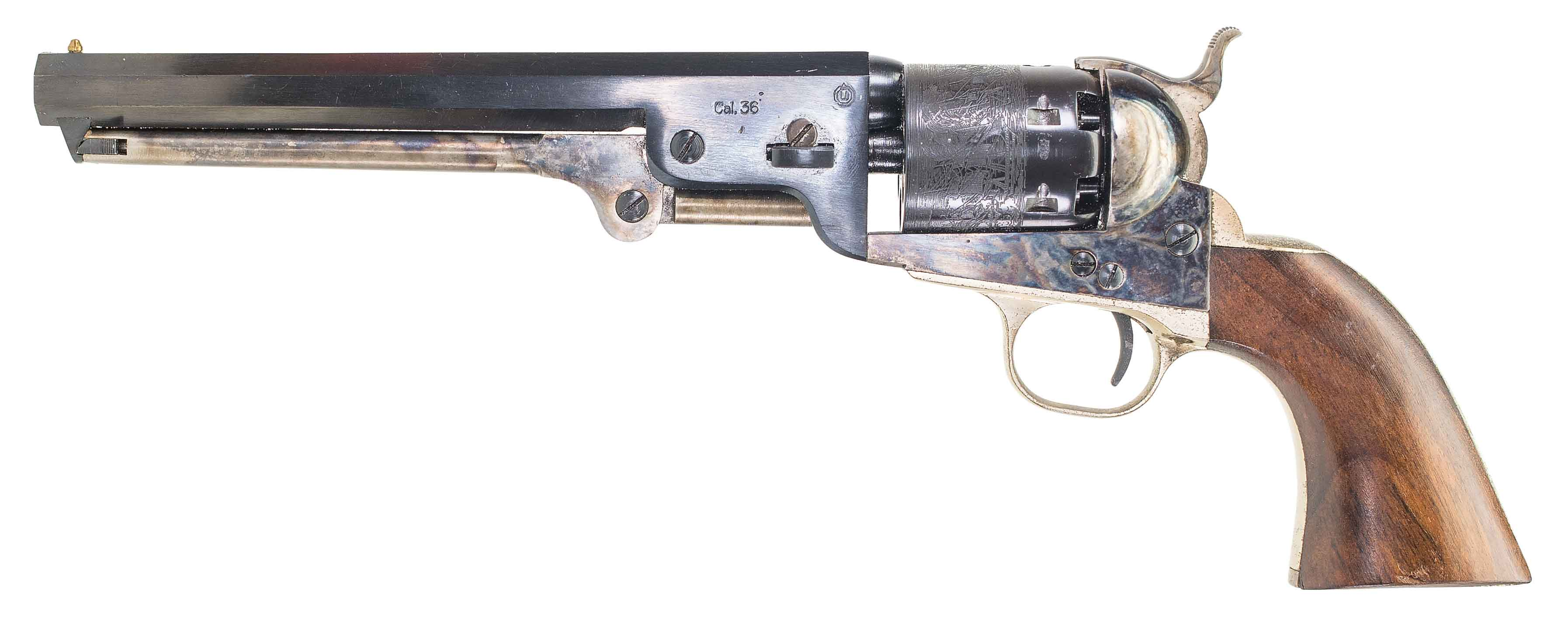 navy arms replica colt 1851 navy revolver auction id 9891262 end
