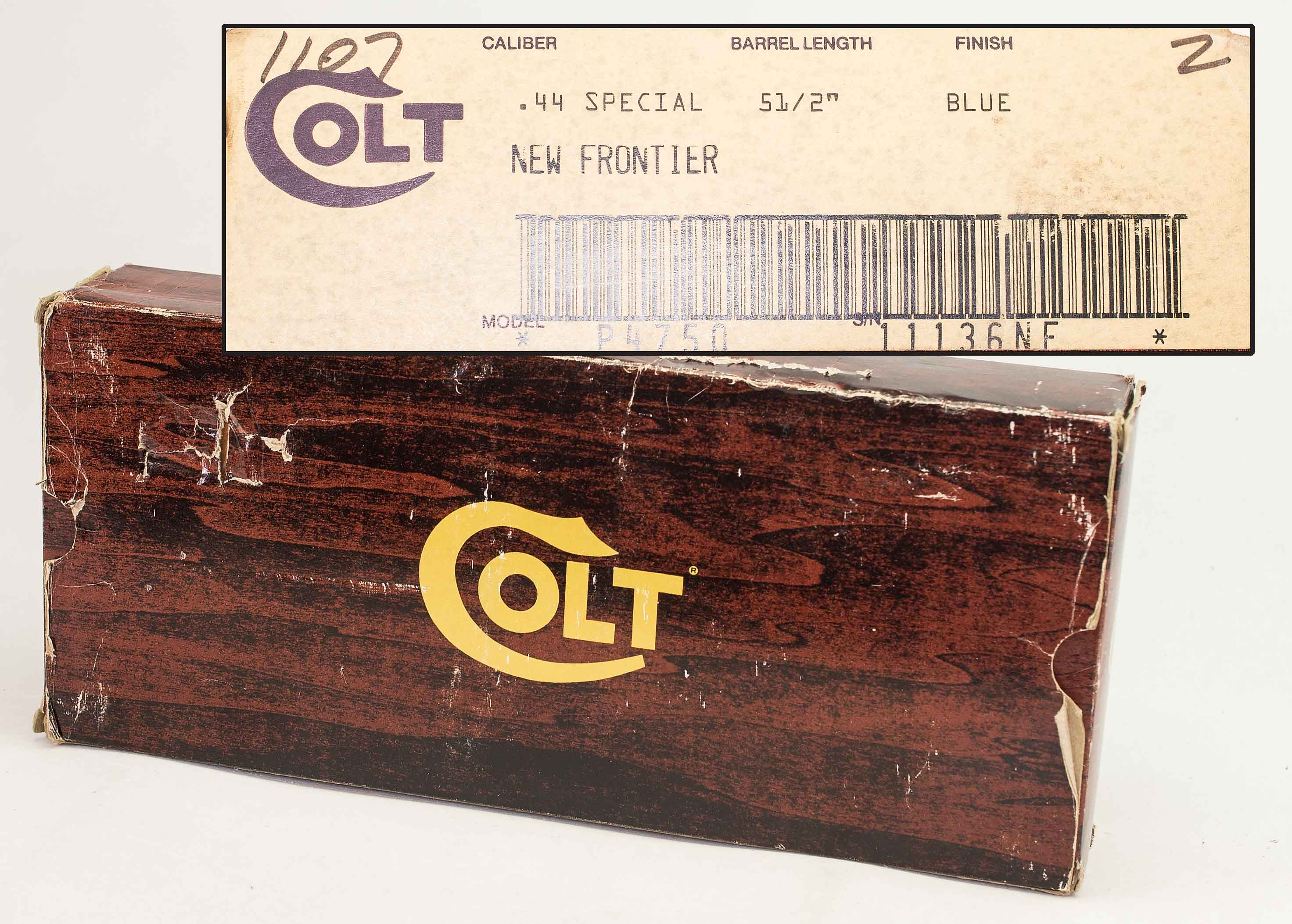 COLT NEW FRONTIER – NIB – 44 SPECIAL (Auction ID: 12487908