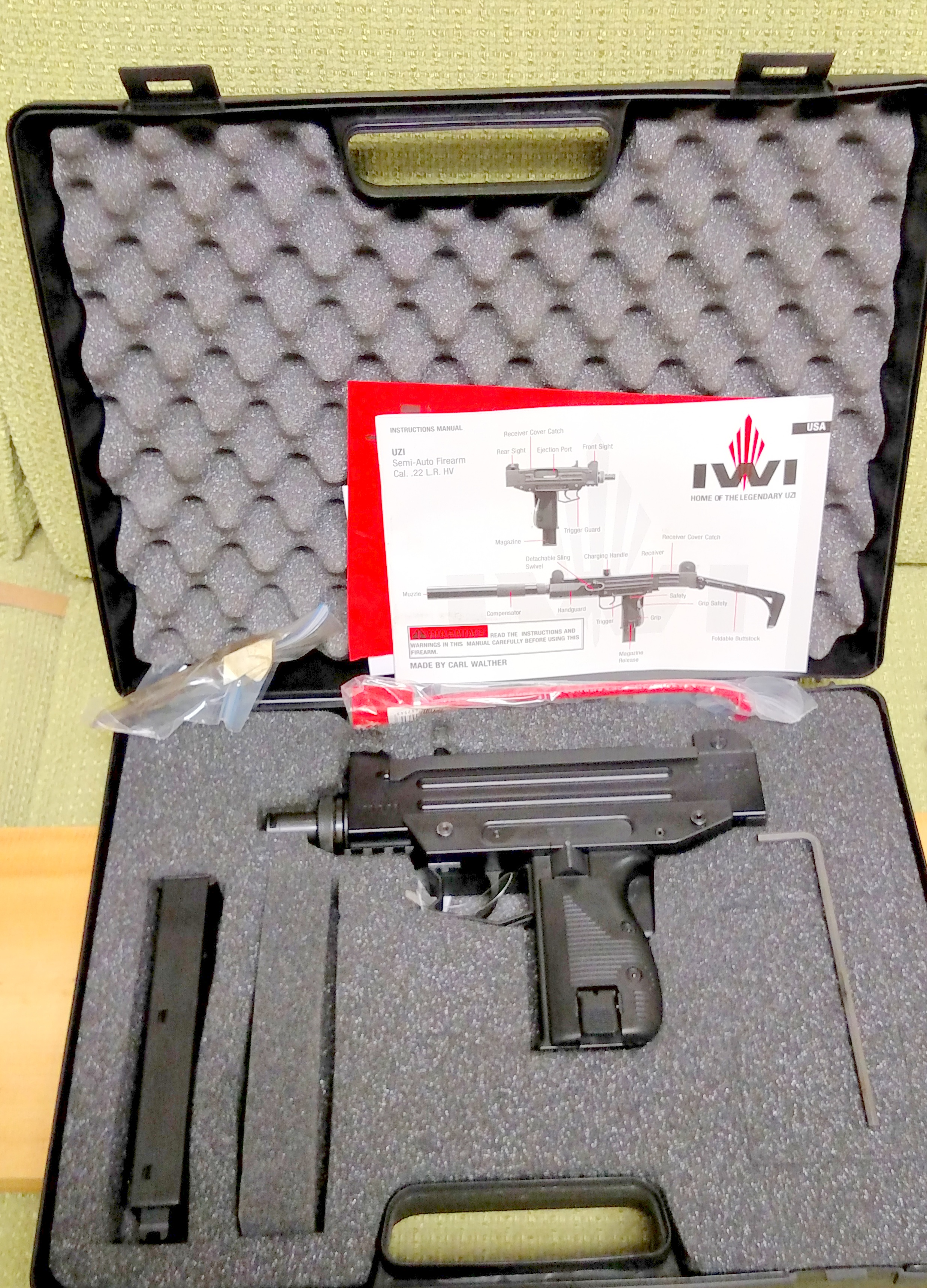 Brand Spanking New real deal IWI UZI PISTOL in 22LR (Auction