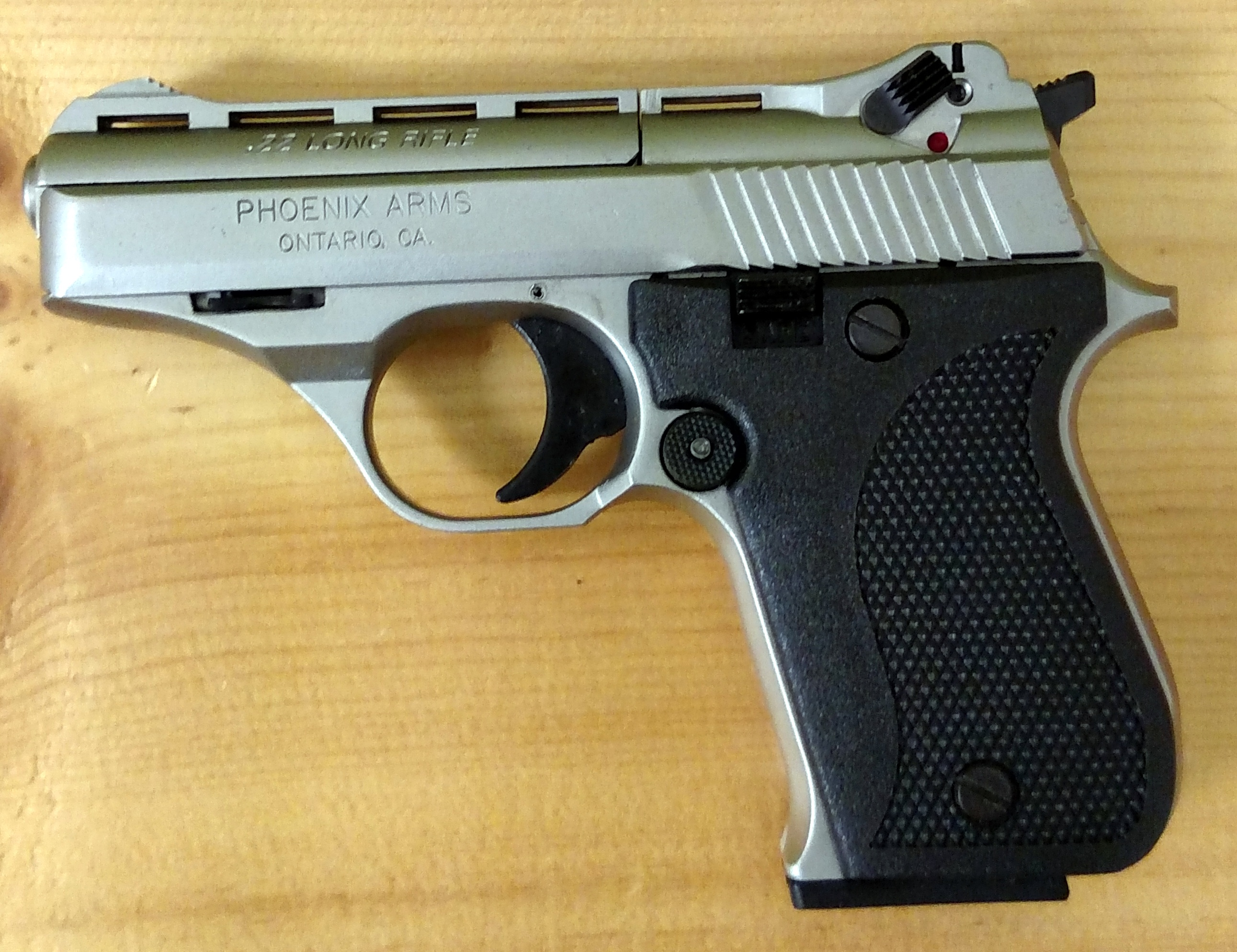 Brand New Phoenix Arms Hp22a Nickel finish conceal carry ...