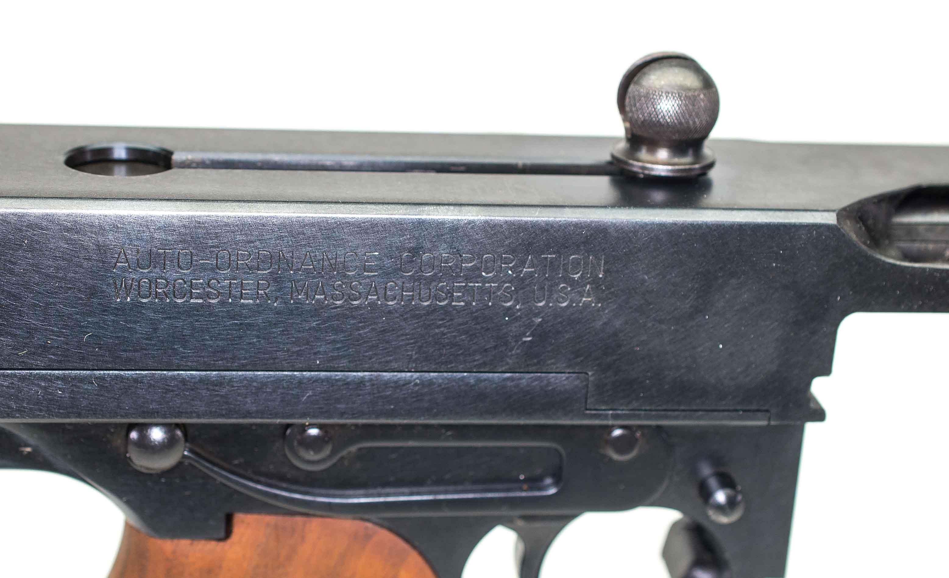 299a240bcbe616 THOMPSON  AUTO ORDNANCE 1927A1 .45ACP (Auction ID  9412448