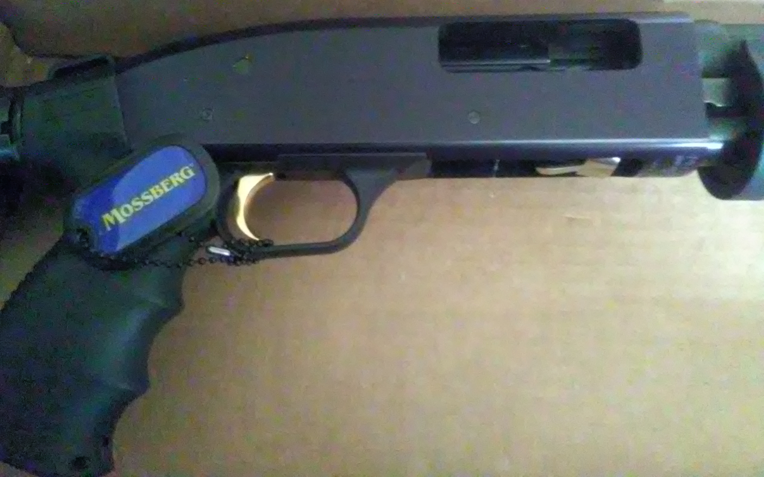 "MOSSBERG 500 20 GAUGE TACTICAL 18 5"" BARREL (Auction ID: 9344079"