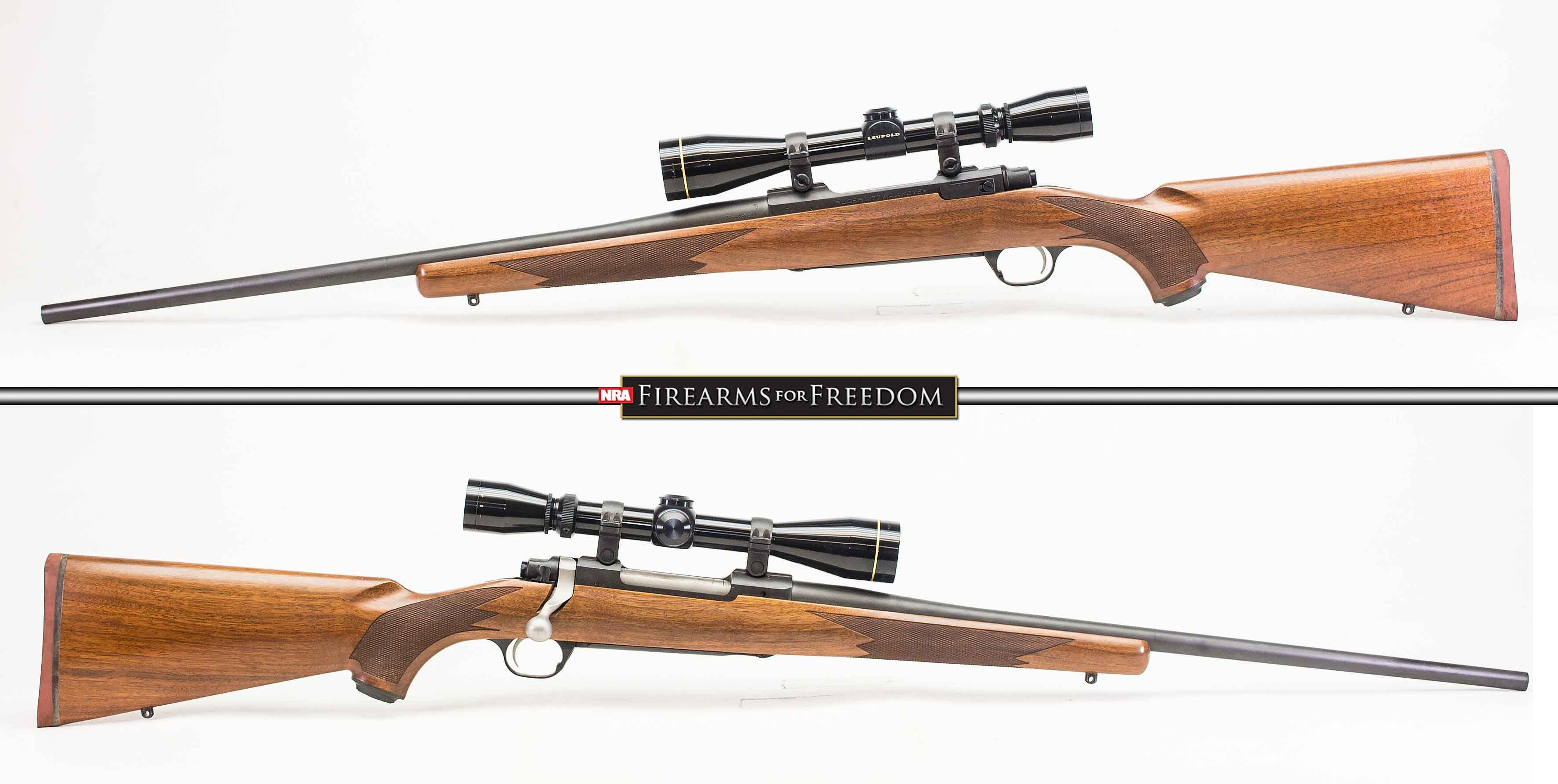 RUGER M77 HAWKEYE – 30-06 SPG (Auction ID: 12471921, End Time : Sep
