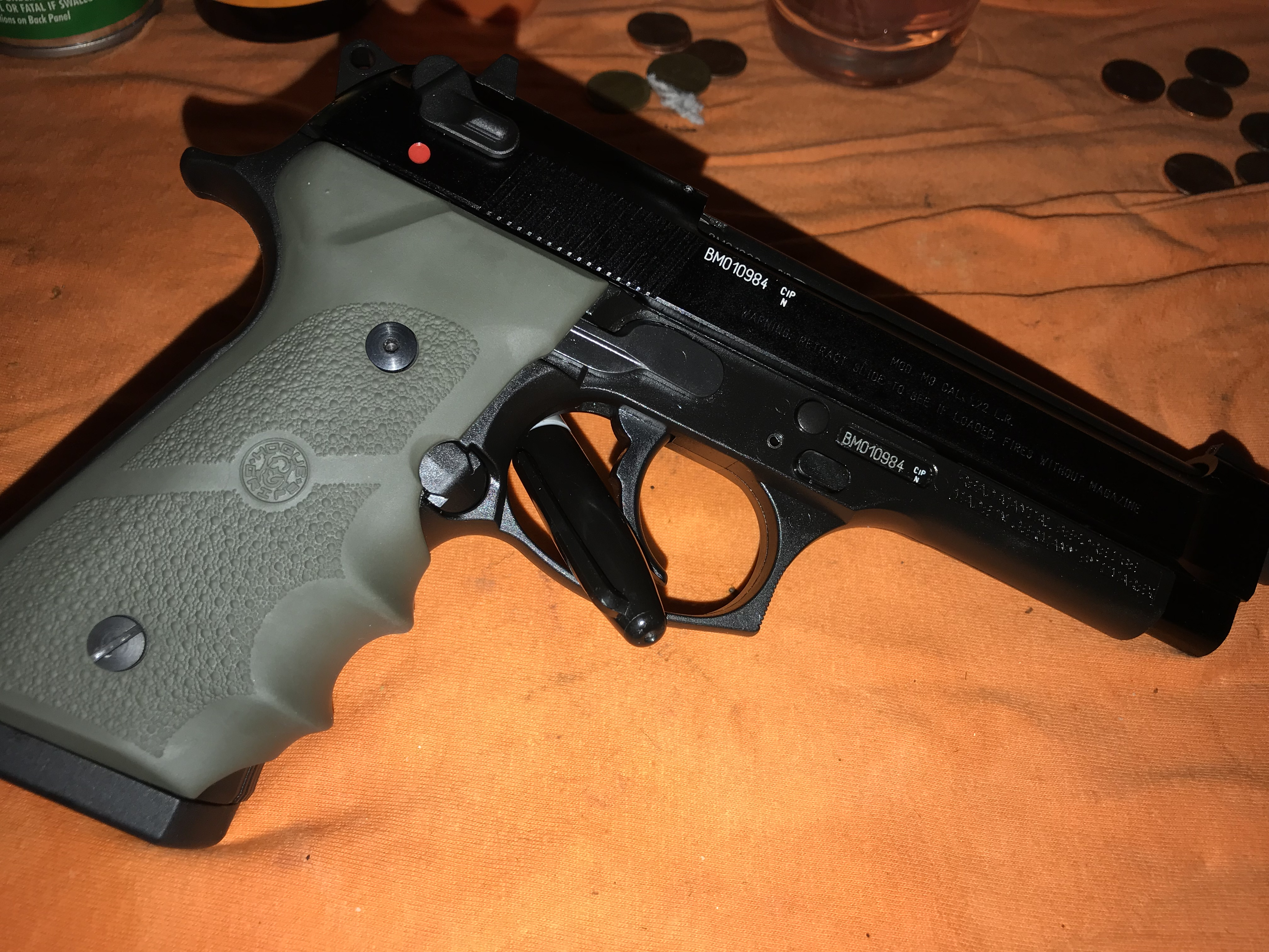 Beretta M9 - 22lr (Auction ID: 9602295, End Time : Oct  10