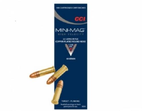 1000rds CCI 22 Long Rifle Mini Mag 40 Grain Round Nose