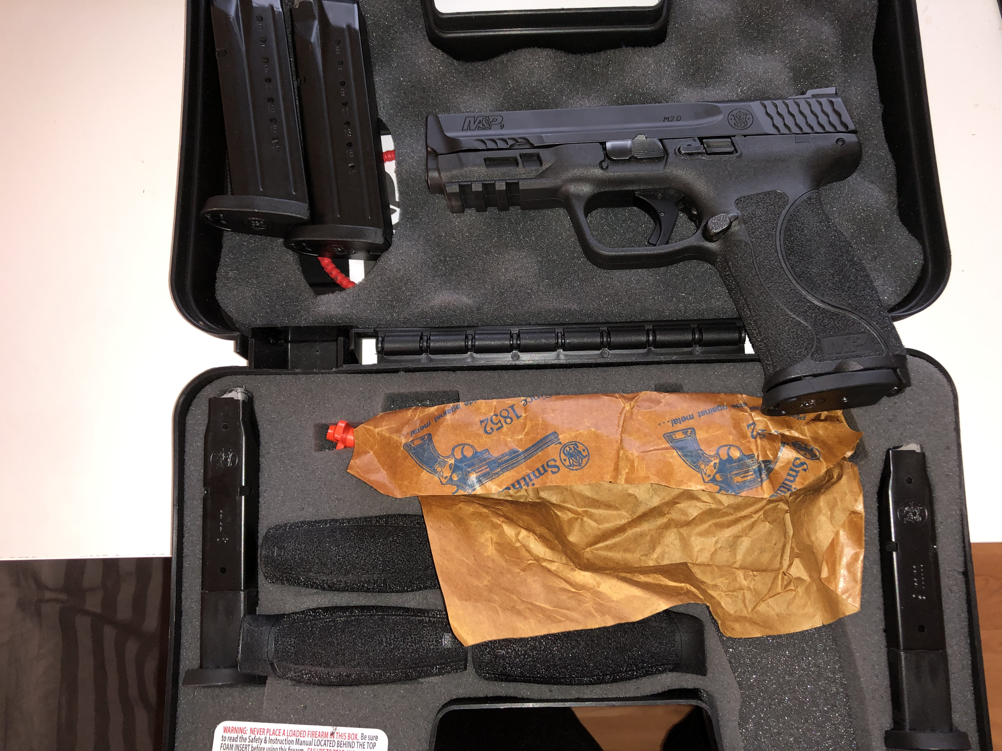 Smith and Wesson M&P 2 0 9mm (Auction ID: 14084127, End