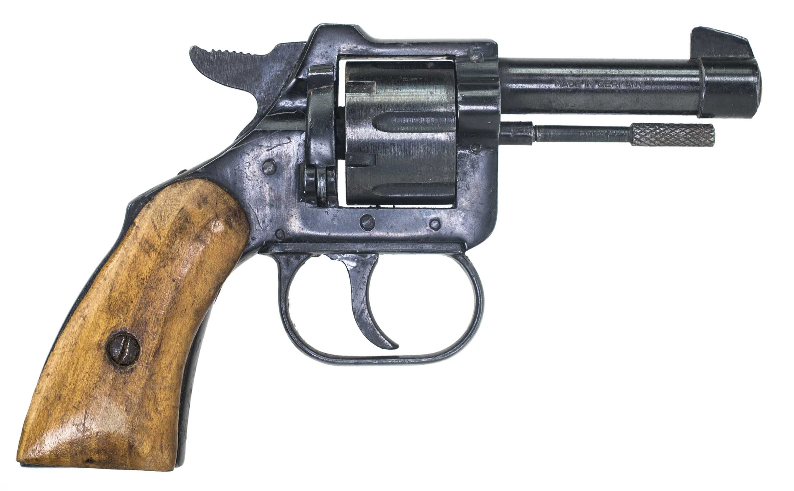 22 SHORT REVOLVER MADE IN GERMANY (Auction ID: 5608514, End