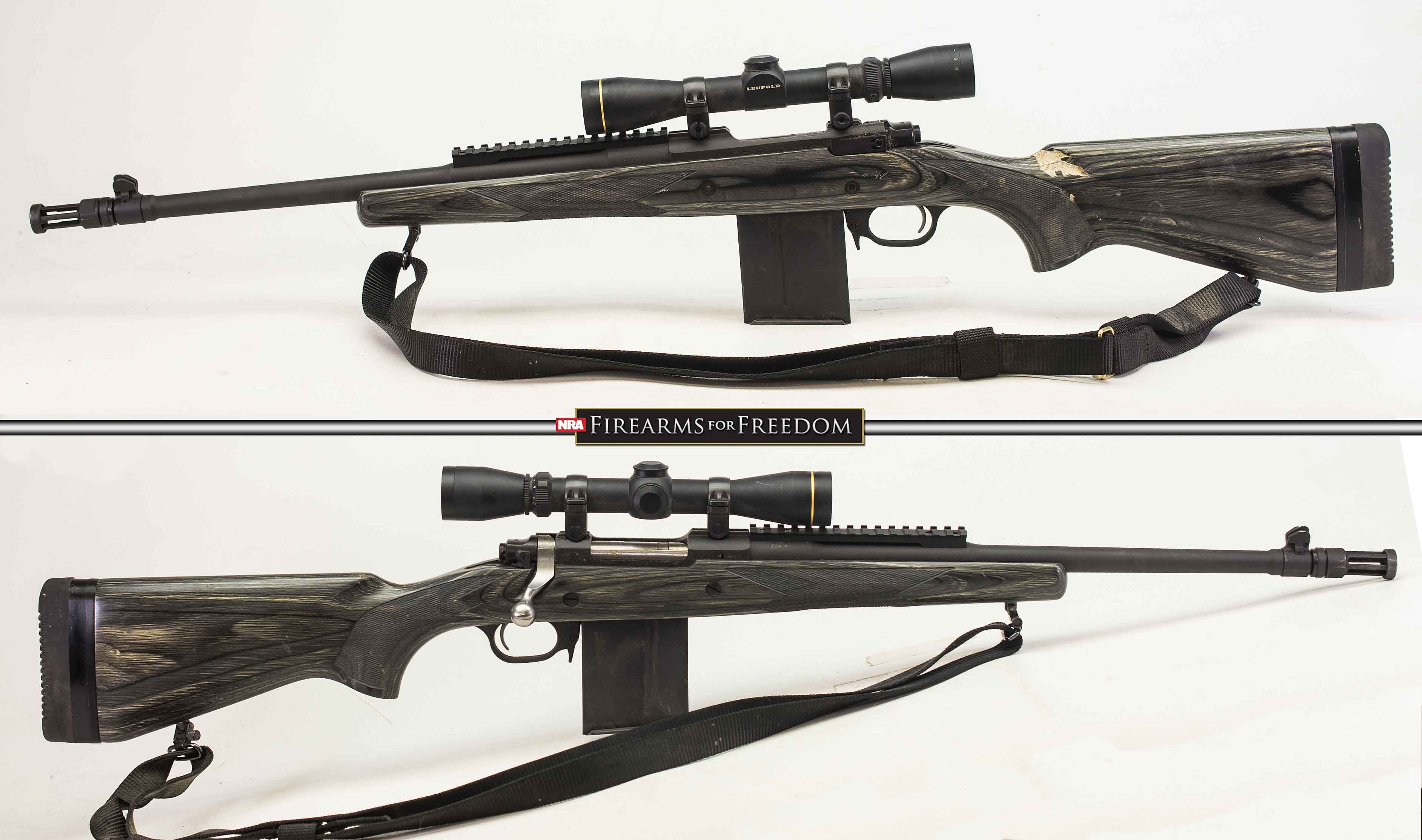 RUGER GUNSITE SCOUT – 308 WIN (Auction ID: 12471939, End