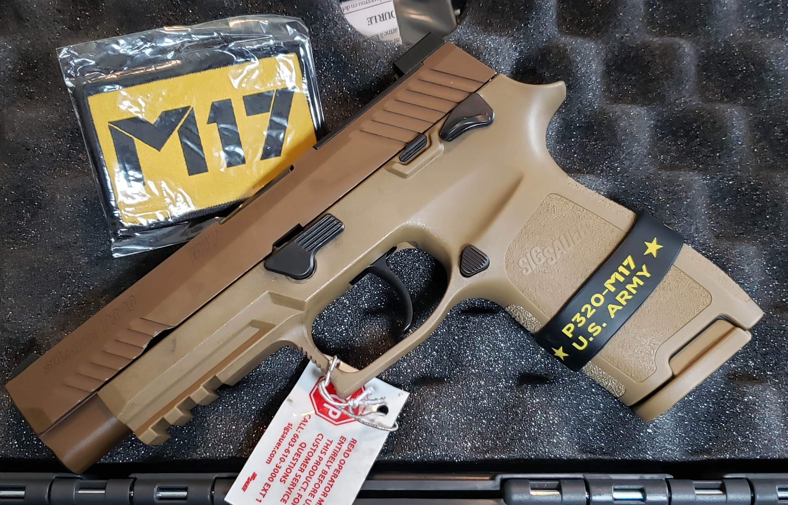 Sig Sauer M17 P320 (Auction ID: 14905593, End Time : May  18