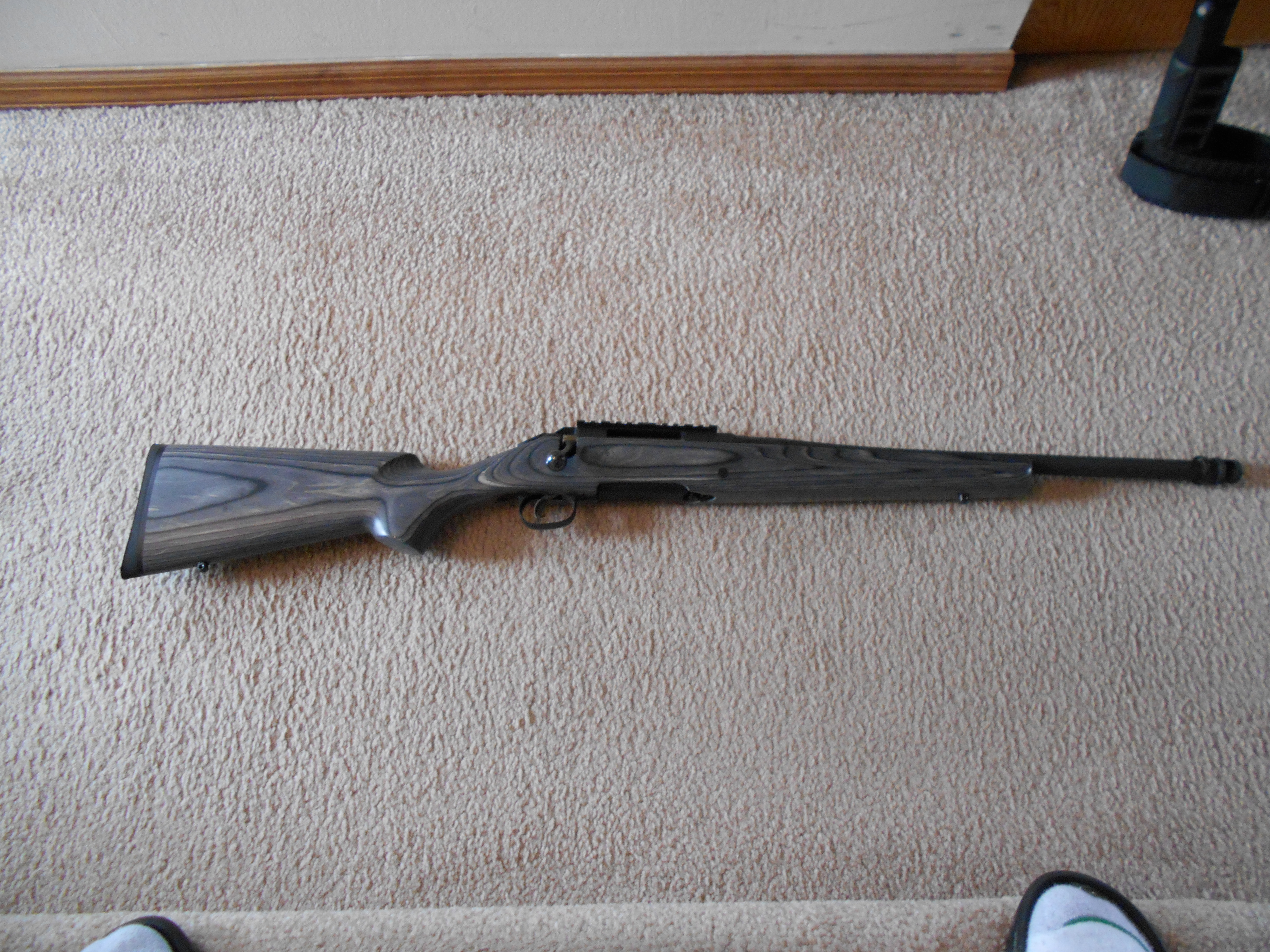 Ruger American Predator 308 With Boyds Classic Pepper Wood