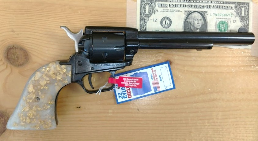 B N I B  Heritage Arms Rough Rider Single Action Combo Revolver w