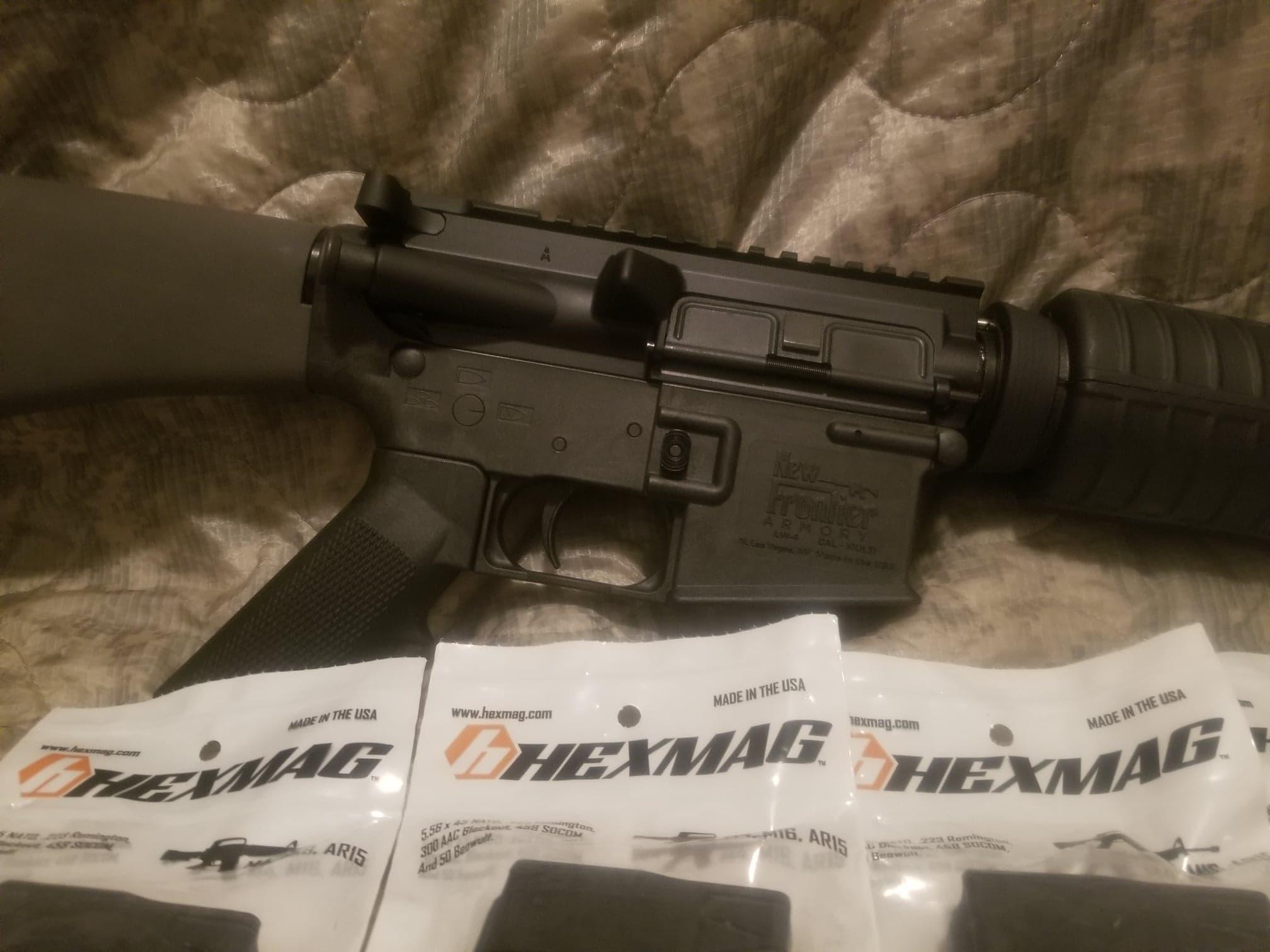Semi-Custom AR-15 Rifle w/ New Frontier Armory LW-4 Lower