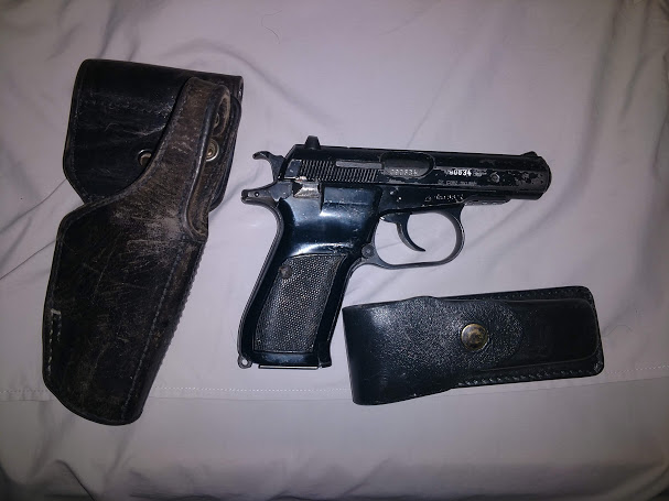 Surplus CZ82 in original 9x18 caliber with holster and