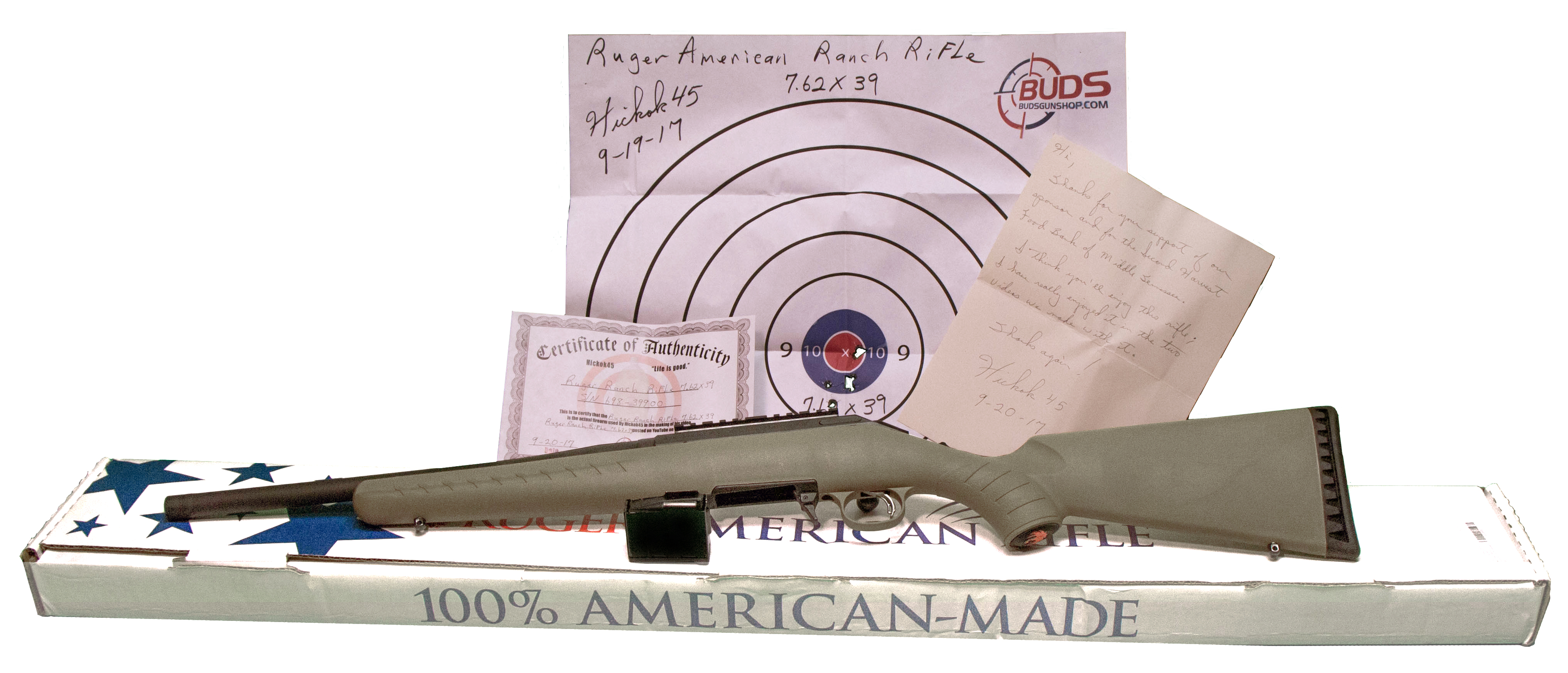 RUGER AMERICAN RANCH RIFLE 7 62X39 (Auction ID: 9580419, End